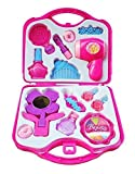 GHT Beauty Set for Girls with Hair Dresser & Accessories Toy (Pink)