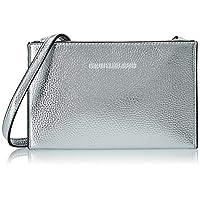 Calvin Klein Banner Small Crossbody Bag, Grey, 20 cm, K60K606157