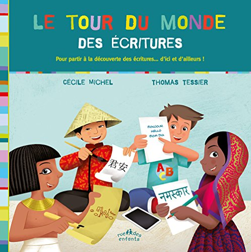 Descargar Libro Le tour du monde des écritures de Cécile Michel