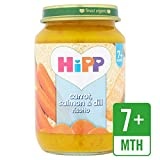 HiPP Bio-Karotten, Lachs & Dill Risotto 190g