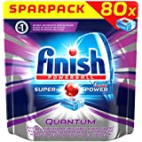Finish Quantum Spar Pack Regular, 1er Pack (1 x 80 Tablettes)