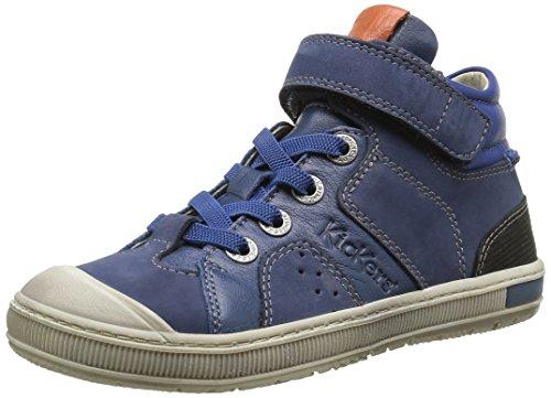 KickersIguane - Scarpe da Ginnastica Basse Bambino , blu (Bleu (Bleu/Orange)), 38 EU