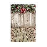 MAYOGO Studio 3D Hintergrund Stoff des Weihnachtsfoto-Studio-3D Elegant und Jahrgang Szene Hintergrund 90x150cm