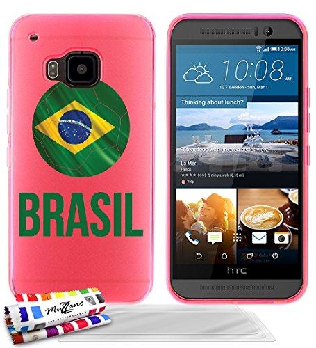 custodia-flessibile-finissima-rosa-originale-di-muzzano-dal-modello-pallone-da-calcio-brasil-per-htc
