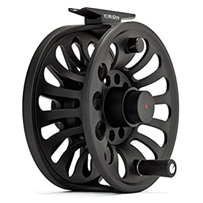 Vision Deep Fly Fishing Reel Deep Arbour Machine Die Cast Strong Durability from Vision