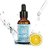 Luckyfine Suero Ácido Hialurónico, Acido Hialuronico 10% y Vitamina C + Vitamina E - Serum facial hidratante para la piel