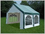 Pavillon Pavillion Festzelt Partyzelt Modular Pro PE 3x4 4x3 3x4m 4x3m mit Fenster Grün