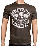 Coole-Fun-T-Shirts T-Shirt Lynyrd Skynyrd Biker MC, grau, XXL, FT208