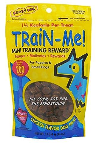 Train-Me Training Rewards Treats Mini 4oz Chicken