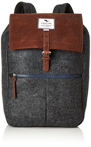 Clarks Unisex-Erwachsene The Elmore Henkeltasche, Grau (Grey), 15x48x30 cm - Für Taschen Frauen Clark