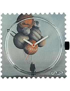 Stamps Uhr - Zifferblatt Balloon Planets - S.T.A.M.P.S. Uhren 104652