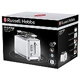 Russell Hobbs 24370-56 Toaster Inspire White, Lift and Look Funktion, bis zu 6 einstellbare Bräunungsstufen, extra breite Toastschlitze, Brötchenaufsatz, weiss - 2