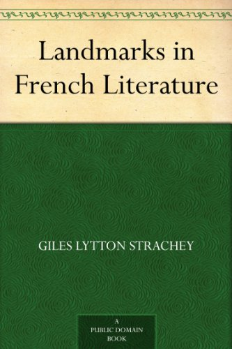 Landmarks in French Literature (English Edition)