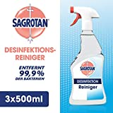 Sagrotan Desinfektion Reiniger, 3er Pack (3 x 500 ml)