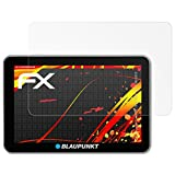 atFoliX Folie Blaupunkt TravelPilot 73 EU LMU/74 EU LMU (2015) Displayschutzfolie - 3 x FX-Antireflex-HD hochauflösende entspiegelnde Schutzfolie