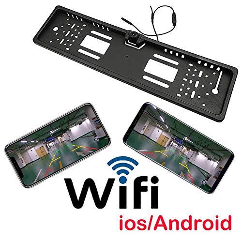 WESEAZON Wireless License Plate Frame Kamera Auto versteckte Backup-Rückfahrkamera für Android iPhone Ipad Acc-wireless-kit