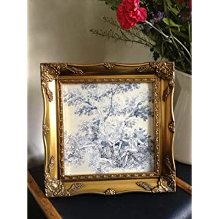 Square Ornate Gold Vintage Antique Picture frame 10x10