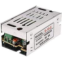 ZYCX123 Unidad de potencia del convertidor AC/DC fuente de alimentación Adaptador del transformador del conductor para LED luces de tira de CA 110-240 V a DC 5V