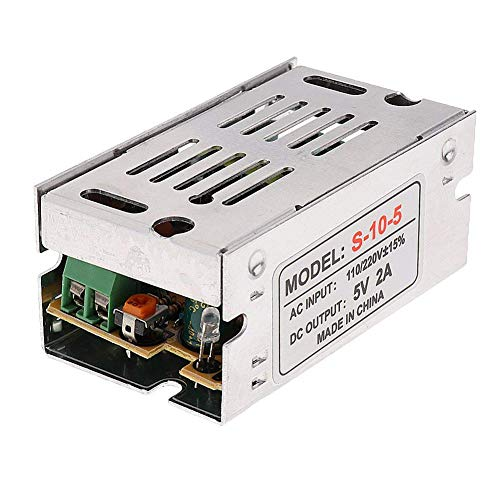 ZYCX123 Schaltnetzteil-Konverter AC/DC-Netzteil-Adapter Transformator-Treiber für LED-Lichtleisten AC 110-240V zu DC 5V 110v Dc Led