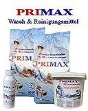 20 kg Primax Waschpulver + 5 kg Waschkraftverstärker + 250 ml Maschinenpflege