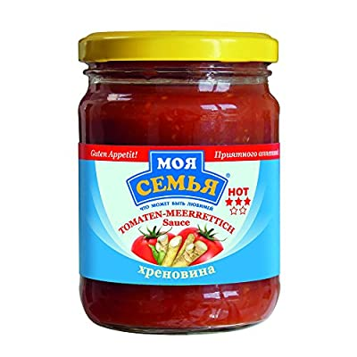 Dovgan Tomaten - Meerrettich-Sauce, 10er Pack (10 x 240 g)