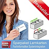Spar-Paket Lernkarten Fachinformatiker Systemintegration IHK-Prüfung - Erfolgreiche Prüfungsvorbereitung auf die Abschlussprüfung