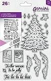 Crafters Companion Gemini dimensionals CLEAR Stempel unmontiert–Baum Zubehör