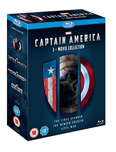 Captain America: 3-Movie Collection (3 Blu-Ray) [Edizione: Regno Unito]