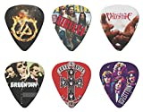 6 Piece - Bufferman 0.46mm Thickness Rhythm Guitar Picks of Iconic Rock Bands - Best Reviews Guide