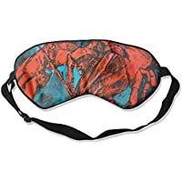Red Cool Lobster Painting 99% Eyeshade Blinders Sleeping Eye Patch Eye Mask Blindfold For Travel Insomnia Meditation preisvergleich bei billige-tabletten.eu