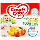 Cow & Gate Apple, Orange & Banana 100% Fruit with Vitamin C from 4-36 Months