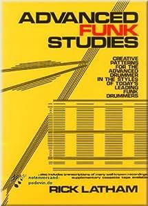 Advanced Funk Studies - Schlagzeugnoten [Musiknoten]