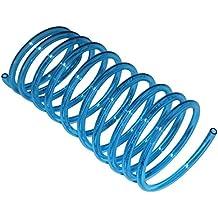 Ersatz-Spiral-Schlauch blau-transparent geeignet für Munddusche Braun Oral-B, 1,25 m + Reparaturanleitung per Mail (DIY)