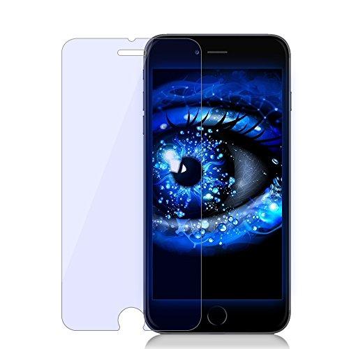 Antye® Anti Blu-Ray Ausgeglichenes Glas-Schirm-Schutz Mit 9H Härte und High Definition (HD) 96% Transparenz für iPhone 6 Plus/6s Plus (Speichert Ihre Sehkraft vor Schädlichen UV-Ray und Blue Light)