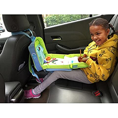 Highdas Sedile sicurezza dei bambini del passeggiatore di viaggio giocattolo Drawing Board vassoio
