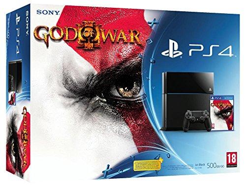 Console PS4 500 Go Noire + God of War 3 HD