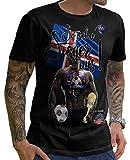 Stylotex Herren T-Shirt Basic So sehn Sieger aus Guy Island Iceland, Farbe:schwarz;Größe:XXXL