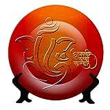 Jikraa Ganesh Chaturthi Ceramic Plate