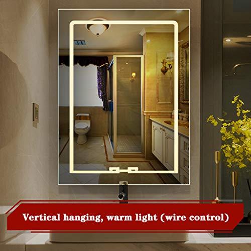 Da Mirror A Hd 12v Specchio Montaggio Bagno Luminoso Zq Con