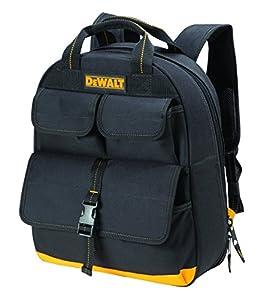 DeWalt DGC530 USB Charging Tool Back Pack (23 Pocket), Black/Yellow by DEWALT