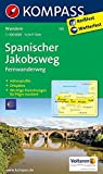 Spanischer Jakobsweg: Fernwanderweg. GPS-genau. 1:100000 (KOMPASS-Wanderkarten, Band 133) -
