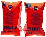Fashy Sima Schwimmhilfe, orange, über 60 kg, 8302