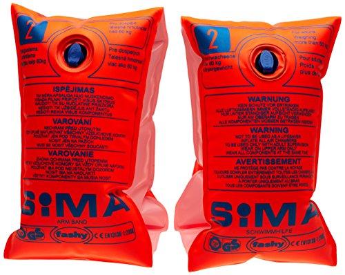 Fashy Sima Schwimmhilfe, orange, über 60 kg