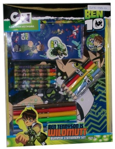 Image of Ben 10 Bumper Stationery Activity Pack.
