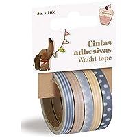 5-Pack Nastri adesivi di washi tape scrapbooking