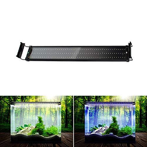 SolarNovo LED Apparecchio di Illuminazione per Acquario IP64 Copertura LED Lampada Apparecchio Copertura Morsetto Lampada Clip Lampada per 30-136 cm Acquario (per l'acquario 95-115cm)