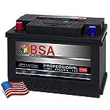 US Autobatterie 77Ah 680A/EN USA Batterie Pluspol Links Voyager Cherokee Wrangler Navara Captiva