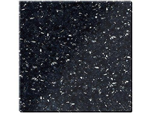 Creative Tops Untersetzer, 100{0e0aa1f7fdba7d47ff5985ef648fef0922dd48539888aed6604ace213611b733} Granit, Natural Black, 4 Stück