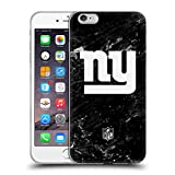 Head Case Designs Offizielle NFL Marmor 2017/18 New York Giants Soft Gel Hülle für Apple iPhone 6 Plus/6s Plus