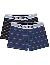 Animal Allview 2 Pack Boxer Shorts